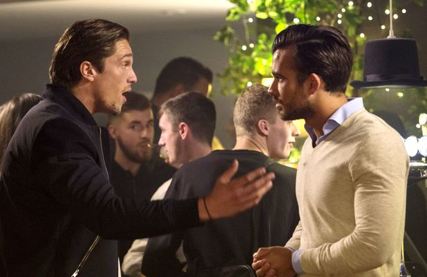 Lewis Bloor and Michael Hassini come face-to-face 11 October