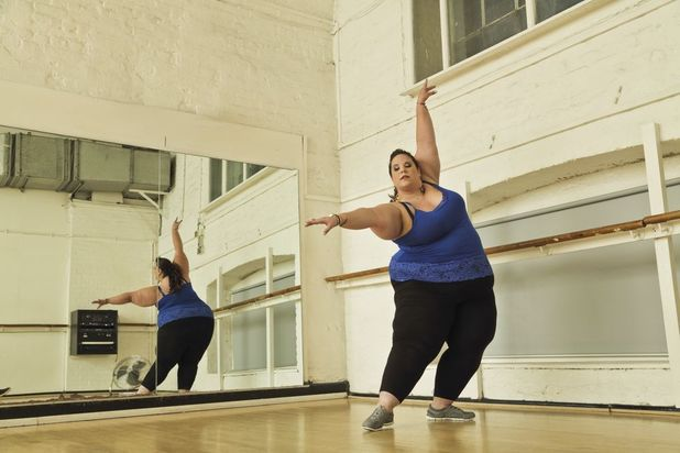 Whitney Way Thore loves dancing