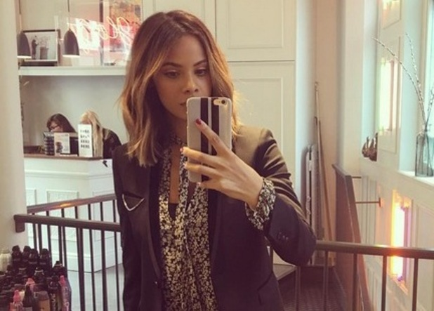 Rochelle Humes shows off new hair 15 October