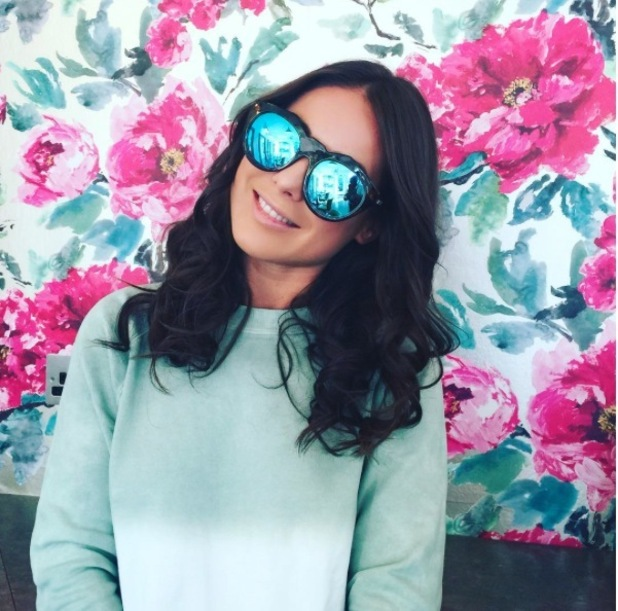 Made in Chelsea's Louise Thompson takes to Instagram to show off her black hair, 13th October 2015