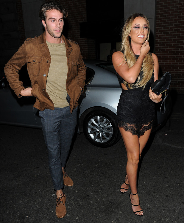 Charlotte Crosby and Max Morley, 15 October