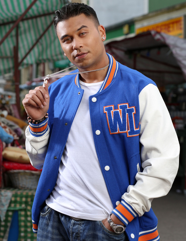 Ricky Norwood as 'Fatboy' Arthur Chubb in EastEnders.