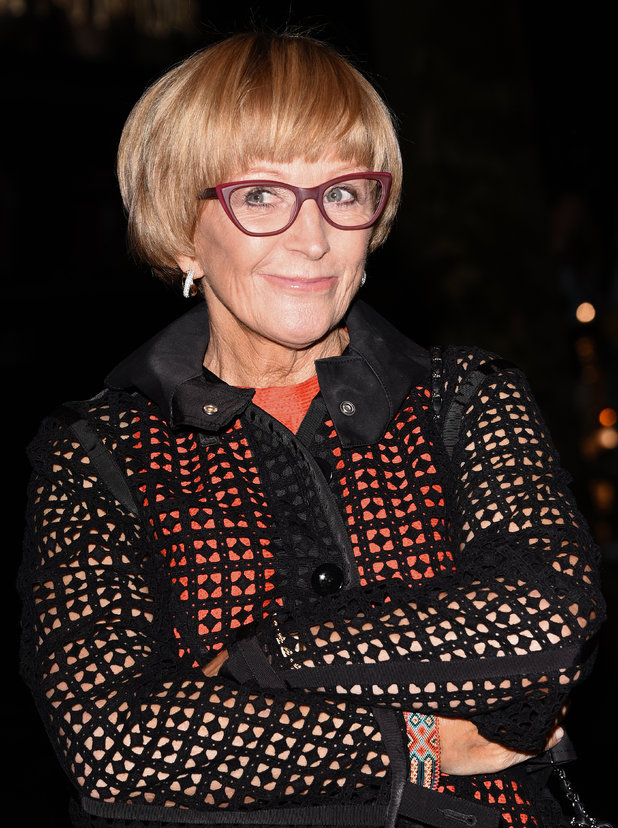 Anne Robinson attends Specsavers Spectacle Wearer of the Year Awards at 8 Northumberland Avenue