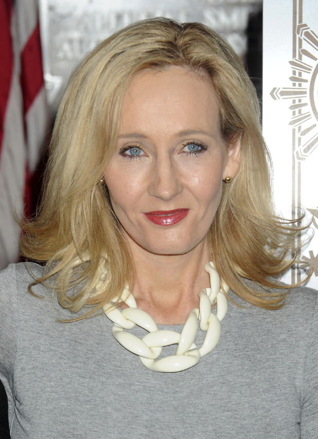 J K Rowling came second in the poll