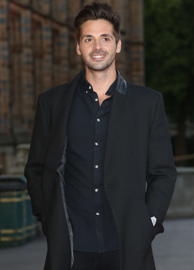 Ben Haenow attends Believe In Magic Cinderella Ball held at the Natural History Museum 8 October