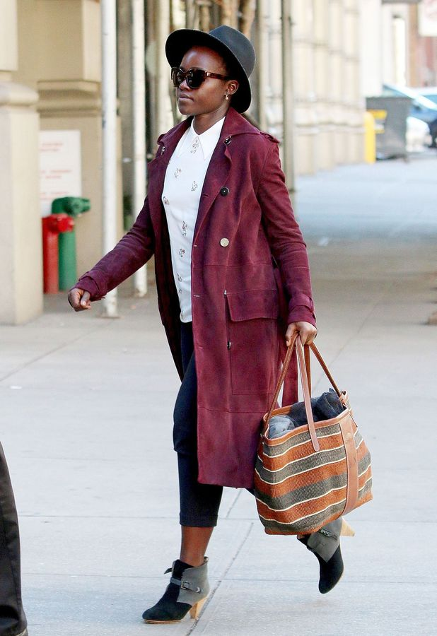 Lupita Nyong'o out and about in New York, 12th October 2015