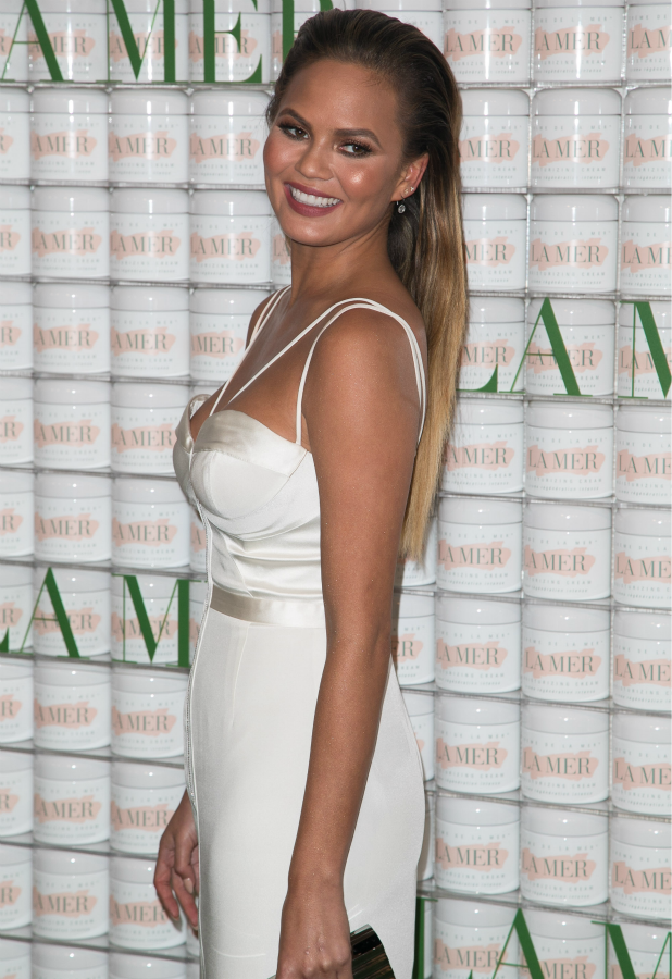 La Mer 'Celebration of an Icon' Global Event hosted by Estée Lauder Companies Inc. Group at Siren Studios Chrissy Teigen