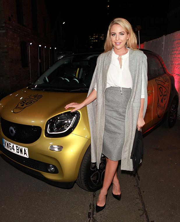 Lydia Bright at smart Disturbs London party, 2015