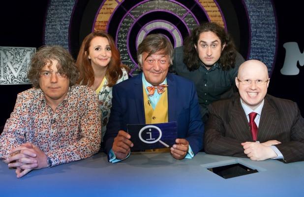 Alan Davies, Lucy Porter, Stephen Fry, Ross Noble, Matt Lucas QI