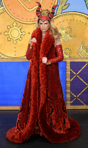 Katie Price at the Sleeping Beauty photo call held at the New Victoria Theatre - 20 October 2015.