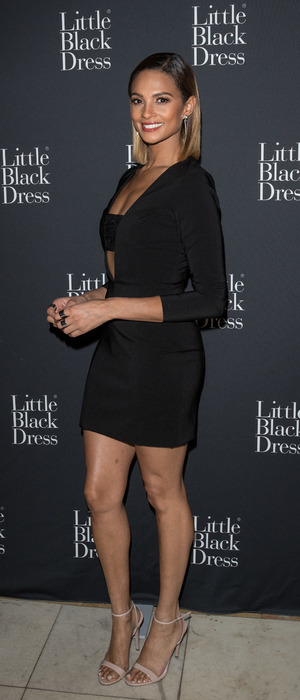 Alesha Dixon attends the Little Black Dress party in London, 23rd October 2015