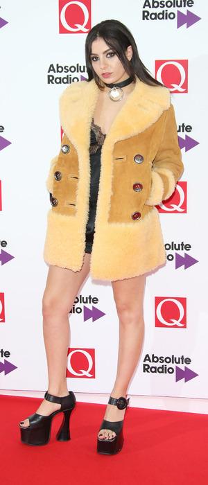 Charli XCX at the Q Awards 2015, 19th October 2015
