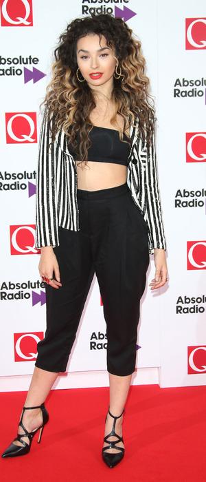 Ella Eyre at the Q Awards 2015 in London, 19th October 2015