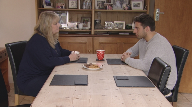 James Arg Argent talks to his mum following fallout with Lydia Bright, TOWIE 21 October