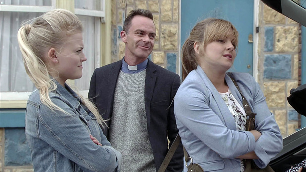 Corrie, Sarah and Bethany leave, Wed 21 Oct
