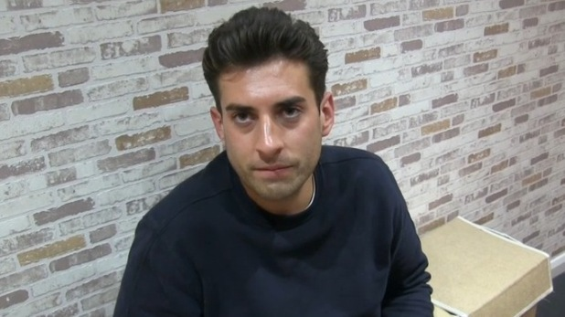 TOWIE's James 'Arg' Argent talks about his fears of a future without Lydia Bright. 18 October 2015.