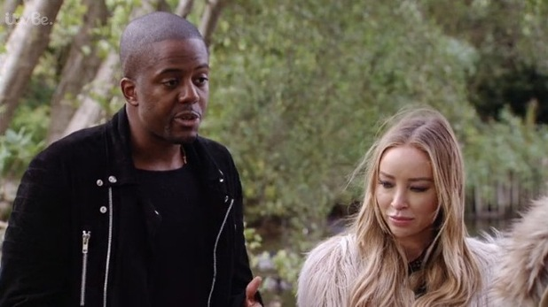 TOWIE: Vas and Lauren bump into Chloe and Jake in the park - 21 October 2015.