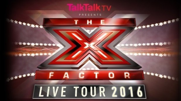 The X Factor 2016 Live Tour logo. 18 October 2015.