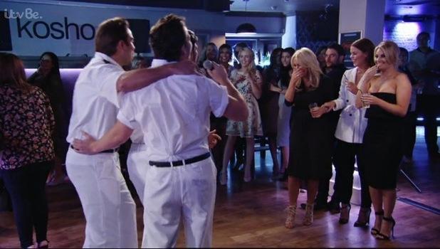 TOWIE's Dan Edgar renacts a scene from Top Gun 18 October