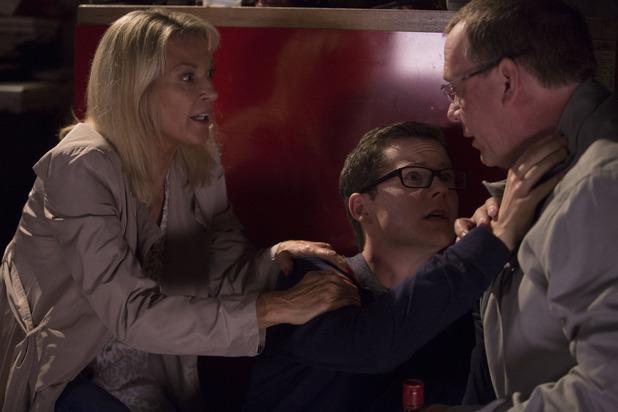 EastEnders, Kathy and Ian help drunk Ben, Thu 22 Oct