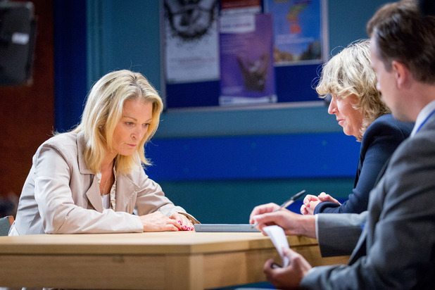 EastEnders, Kathy at the police station, Fri 23 Oct