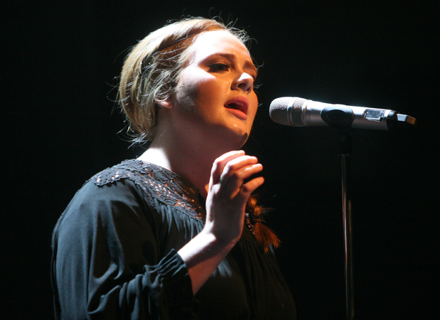 Adele Adkins performing live at the Paradiso - Amsterdam, Netherlands - 04/08/2011