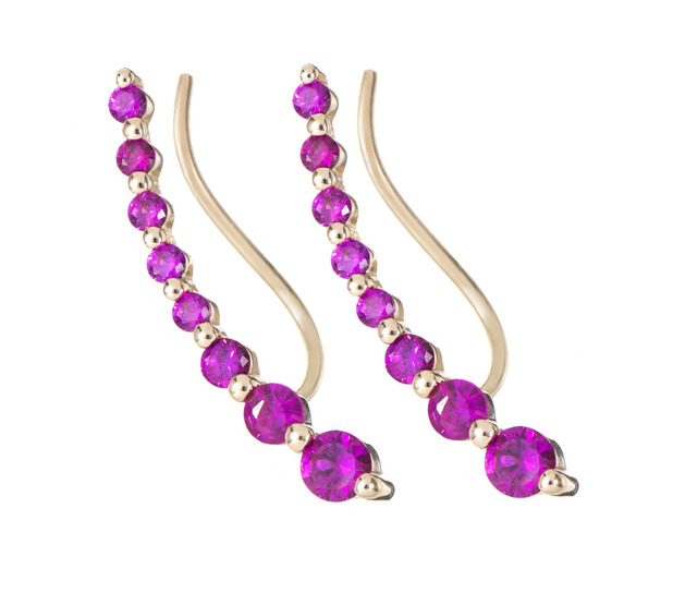 Rosie Fortescue Pink Earrings, £55, 20th October 2015