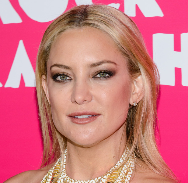 Kate Hudson at the Rock The Kasbah premiere in New York, rocking smokey eye and nude lip 20th October 2015