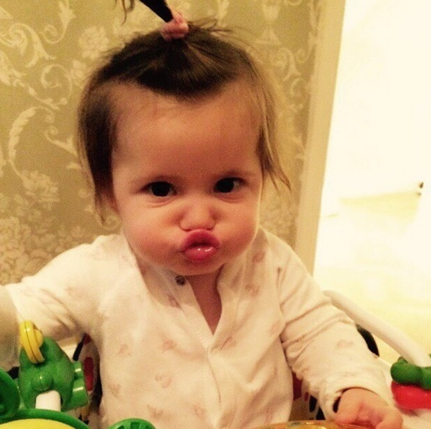 Ella Osborne pouting 22 October
