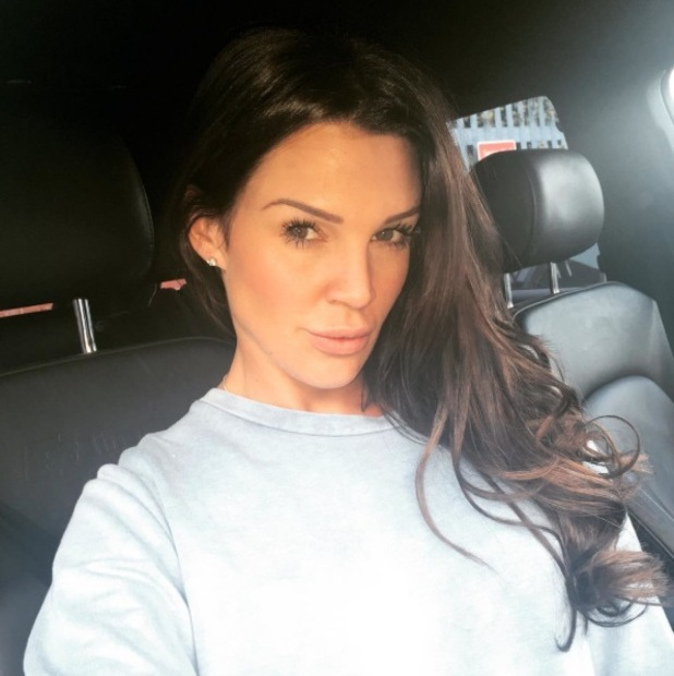 Danielle Lloyd dyes her hair a dark shade of brown and shares selfie on Instagram, 23rd October 2015