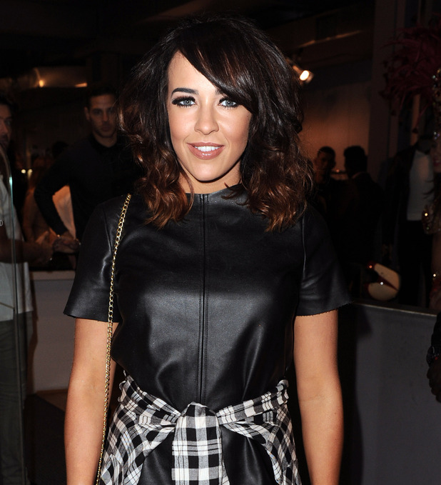 Stephanie Davis, Belstaff store launch in Manchester 1 October