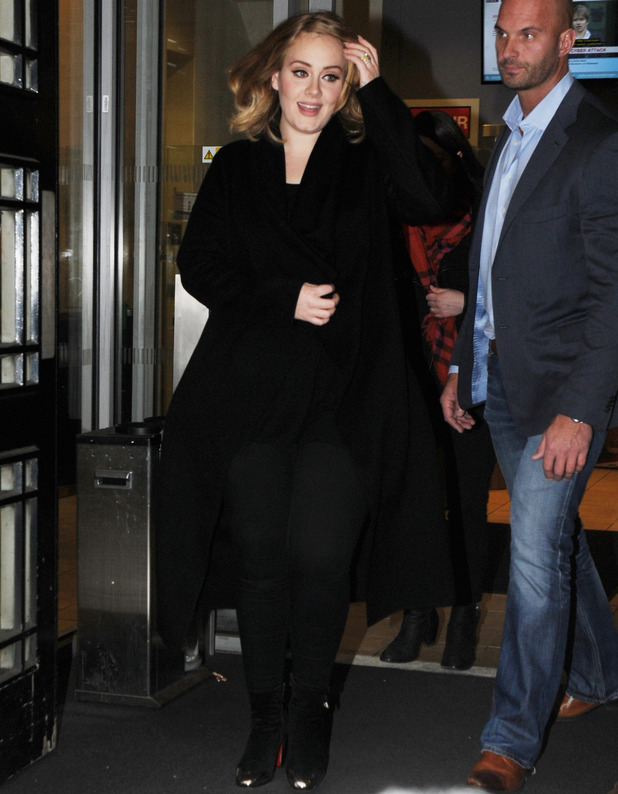 Adele, BBC Studios, London 23 October
