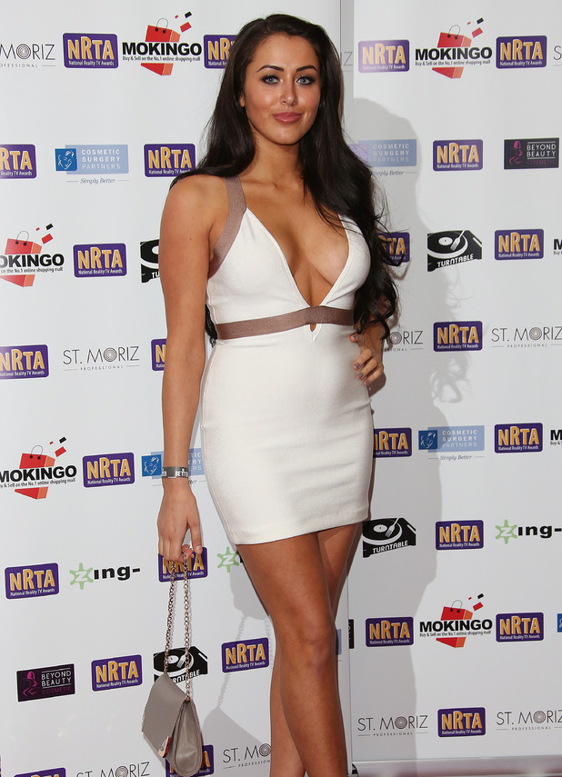 Marnie Simpson attends The National Reality TV Awards (NRTA) 2015 held at the Porchester Hall, London 30 September