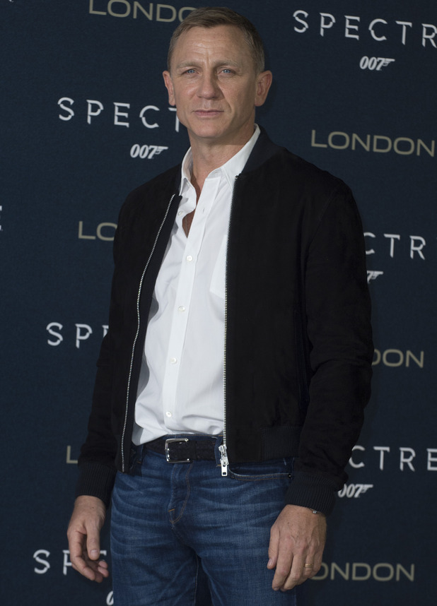 Daniel Craig attends Spectre premiere, London 22 October