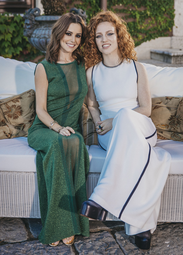 X Factor 2015: Judges' Houses - Cheryl and guest judge Jess in Rome.