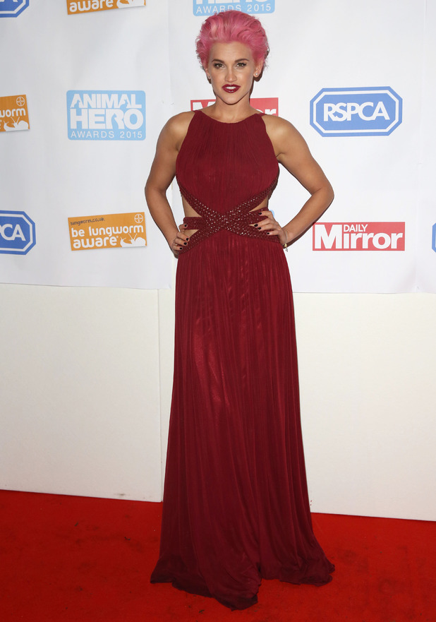 Ashley Roberts, Daily Mirror and RSPCA Animal Hero Awards 2015 - Arrivals, 21 October 2015