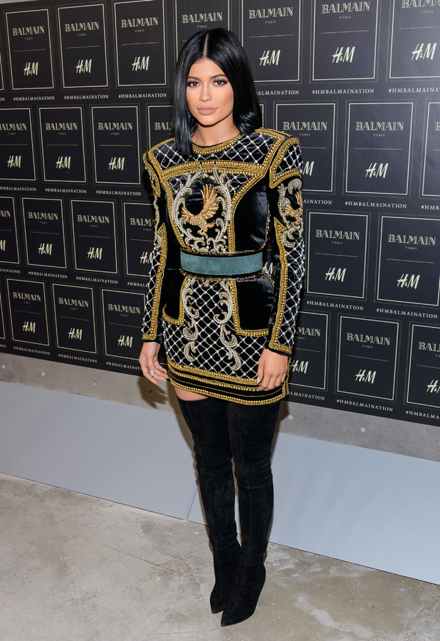 Kylie Jenner attends Balmain X H&M Party in Manhattan, New York City 21st October 2015