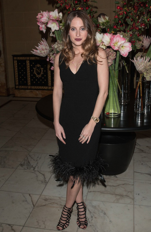 MIC's Rosie Fortescue attends the Little Black Dress party in London, 23rd October 2015