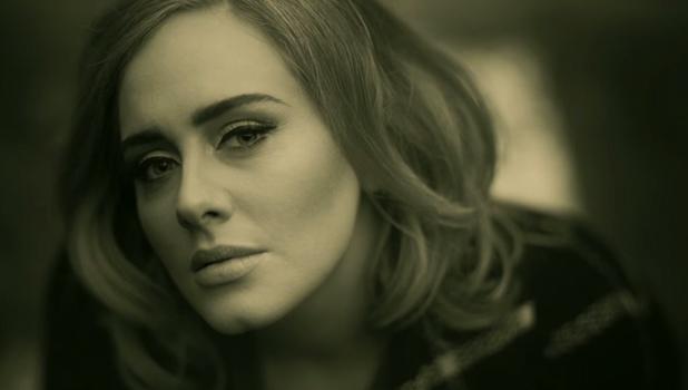 Adele's Hello - screengrab