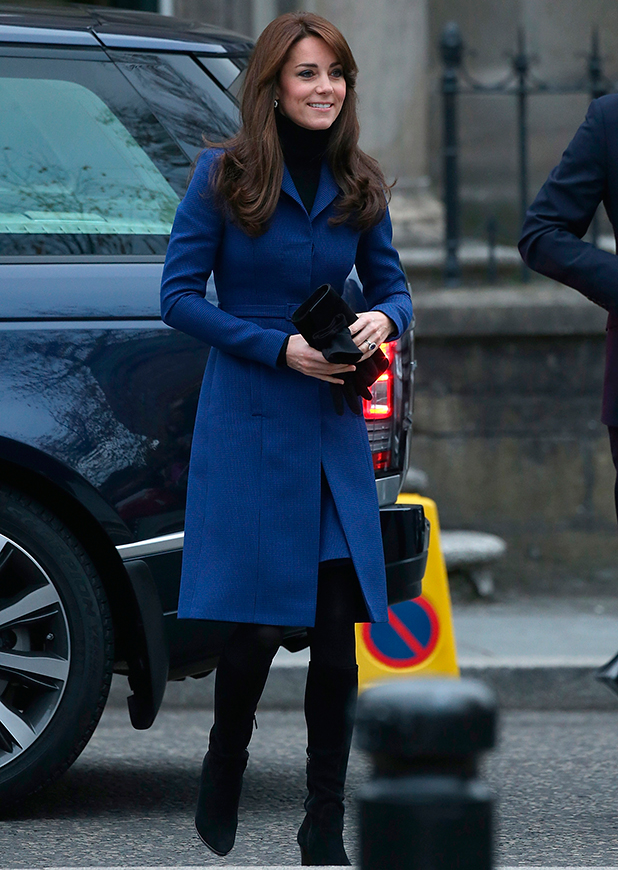 Catherine, Duchess of Cambridge visits Dundee Rep. Theatre on October 23, 2015 in Dundee, Scotland (Photo by Danny Martindale/WireImage)