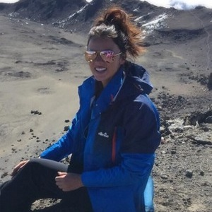 Lucy Mecklenburgh climbs Mount Kilimanjaro with Results With Lucy team, Africa 24 October