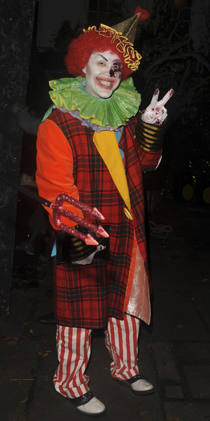 Gok Wan attends Jonathan Ross' annual Halloween Party, held at his home in Hampstead, 31 October 2015.