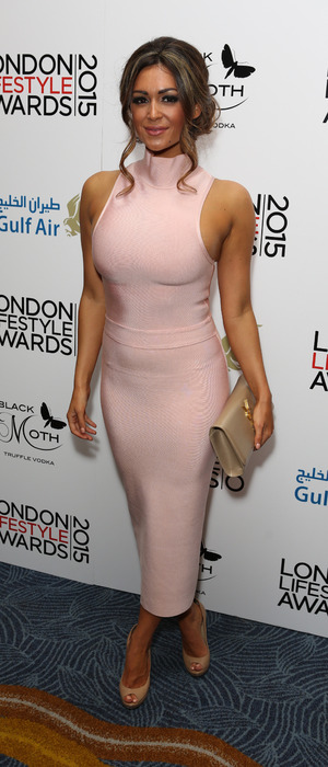 Casey Batchelor at the London Lifestyle Awards 2015, 29th October 2015