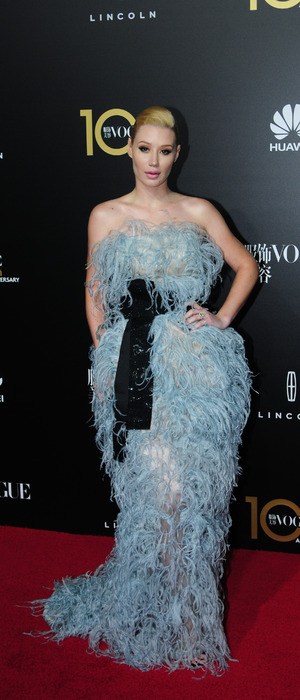 Iggy Azalea attends the Vogue China Gala Dinner in China, 28th October 2015