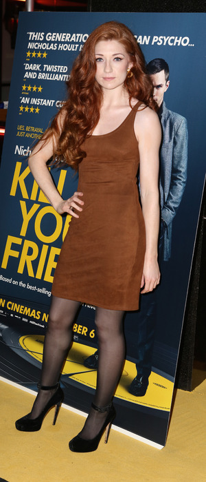 Nicola Roberts attends the Kill Your Friends screening at London's Soho House, 28th October 2015