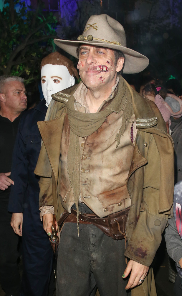 Jonathan Ross hosts his annual Halloween Party, held at his home in Hampstead, 31 October 2015.