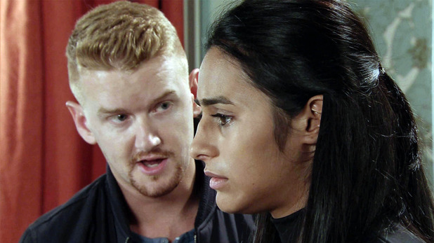 Corrie, Alya confesses to Gary, Thu 29 Oct