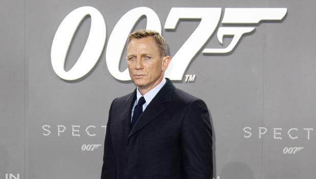 Daniel Craig at the German premiere of James Bond 007 Spectre - 28 October 2015.