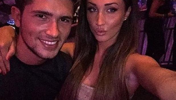 Jordan Davies and Megan McKenna selfie, Instagram 7 October