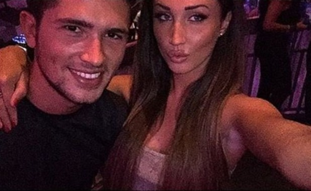 Jordan Davies and Megan McKenna selfie, Instagram 7 October